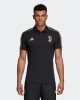 Polo Shirt JUVENTUS Adidas Cotton 2018 19 short sleeves man Climalite Black