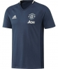 Manchester United Adidas Maglia T-Shirt Maglia 2016 17 TEE Blu