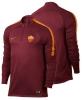 Drill Top As Roma Nike Felpa Allenamento Training Sweatshirt Rosso Uomo 2016 17