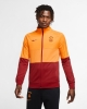 Pre match jacket Galatasaray Nike L96 man 2020 21 Red zip pockets