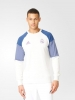 Sweat Top Real Madrid Adidas Felpa Allenamento Training Sweatshirt Bianco