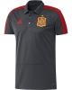 Spagna Adidas Polo Maglia Shirt Grigio Mondiali 2018