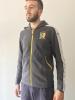 Sportswear Lifestyle Jacke Sweatshirt Cameroon Puma Cotton Hood Graue Taschen mit Reißverschluss