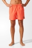 Adidas SOLID Costume da Bagno Pantaloncini shorts Arancione con tasche 2017