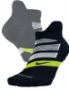 Running Socks Black Original Nike Dry Cushion Dynamic Arch No-Show unisex 2017