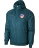 Atletico Madrid Nike Giacca Allenamento Training Windrunner Blu 2017 18