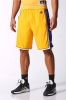 Adidas NBA SWINGMAN Los Angeles Lakers Pantaloncini Shorts basket Giallo