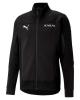 Sportanzugjacke Puma AC MILAN Evostripe Cotton 2021 Taschen mit Reißverschluss Schwarz