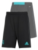 Real Madrid Adidas Pantaloncini Shorts Training Uomo Nero 2017 18