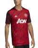 Training Jersey shirt MANCHESTER UNITED adidas PRE MATCH Men\'s Climalite 2019 20 Red Fabric Parley