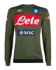 Trainingsoberteil sweatshirt SSC Napoli Kappa ALDRENO 3 2019 20 offizieller Green Man