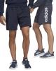 Sport Short Adidas Linear Single Jersey Cotton Blue Men's Original
