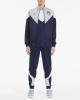 Sports suit FIGC Italia Puma Iconic MCS Track cotton man Blue 2019 20