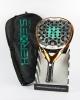 Heroes Racchetta Padel Paddle tg Antracite Unisex T-1000 Diamante Pro Eva 30