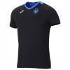 Atalanta Joma T-shirt tempo libero 2018-19 Nero Cotone. passeggio