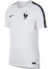 Francia Nike Maglia Allenamento Breathe Squad top Bianco Mondiali 2018