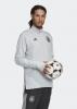 Trainings-Sweatshirt DEUTSCHLAND DFB adidas WARM TOP Original Man EURO 2020 Grau