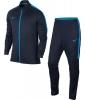 Nike Tuta Allenamento Training 2018 tasche con zip Blu Azzurro