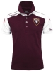 Polo Turin Kappa Presentation Men 2016 17 maroon Original cotton short sleeves