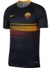 Training Jersey shirt As Roma Nike pre-match Dry Top Men\'s 2018 19 Original Men Black