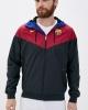 Sport Jacket FC BARCELONA Nike Authentic Windrunner Sportswear Black 2020 21 man