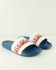 Slippers sea rubber pool shower Napapijri BEACH SLIPPER unisex Blue white