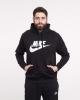 Nike Sportswear Club Fleece Cotton man hoodie with pockets Black