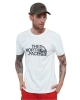 Leisure t-shirt The North Face MS / S WOOD DOME Cotton short-sleeved t-shirt Man White