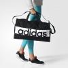 Adidas Borsone Borsa Holdall Duffle bag tg LINEAR PERFORMANCE Unisex Nero