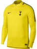 Trainings-Sweatshirt Tottenham Hotspur Nike Original-Bohrer Top Yellow Man 2017 18