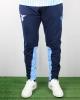 Training Pants Suit Lazio Macron Men\'s 2019 20 with zip pockets Blue