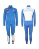 Sport Tracksuit naples kappa cotton 2016 17 blue man