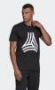 Adidas Maglia Maglietta T-shirt tempo libero Nero Cotone Graphic