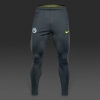Squad Manchester City Nike Pantaloni tuta Pants Grigio 2016 17 TASCHE a ZIP