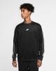 Sport Rundhals-Sweatshirt Nike Sportswear NSW REPEAT PK CREW Mann Schwarz