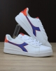 Sportschuhe Sneakers Diadora Spiel p gs Lifestyle Sportswear DAMEN JUNGE Weiß Blau IMPERIAL