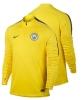 Drill Top Manchester City Nike Felpa Allenamento Training Sweatshirt Giallo Uomo