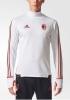 Ac Milan Adidas Felpa Allenamento Training Sweatshirt Bianco 2017 18