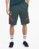 Italia FIGC Puma Pantaloncini Shorts Iconics MCS Uomo Verde 2019 20 Cotone