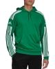 Hooded sweatshirt Adidas Squadra 21 Man AEROREADY Green
