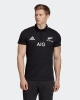Polo All Blacks Rugby New Zealand adidas SUPPORTERS Official Man Black 2020 21