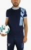 T-Shirt Leisure Official Lazio Macron 2017 18 blue cotton man