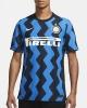 Football shirt INTER FC Nike Vapor Match Home Player ISSUE 2020 21 Man Black blue