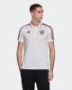 Russia Adidas Polo Maglia UOMO Bianco Cotone maniche corte 3-Stripes EURO 2021