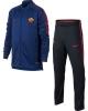 As Roma Nike Tuta Allenamento Training Versione Panchina Dry Squad Knit Blu