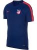 Atletico Madrid Nike Maglia Allenamento Training Breathe Squad Top Blu 2018 19