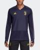 Juventus Adidas UEFA Felpa Allenamento Training Sweatshirt Viola 2018 19