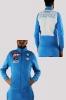 SSC Napoli Kappa Giacca felpa sportiva Sport jacket Presentation Azzurro Cotone