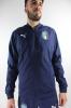 Italia FIGC Puma Giacca Allenamento Training 2018 Woven Peacoat Team Blu
