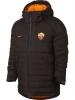 As Roma Nike Bomber Piumino Giubbotto marrone winter padded 2017 18